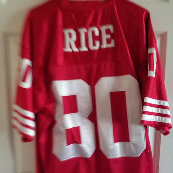quality design a5c5b f9a9e Jerry Rice 49ers Jersey